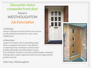 Door suppliers and installers in Westhoughton