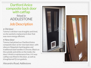 Door suppliers and installers in Addlestone