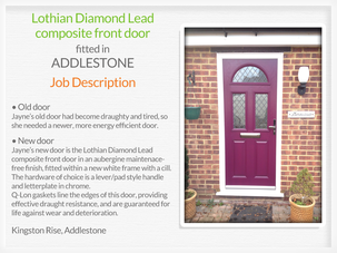Door supplier and fitter in Addlestone
