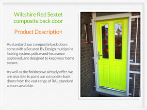 Composite back doors Sidmouth
