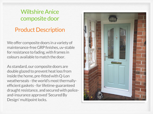 Door suppliers and fitters in Tyldesley