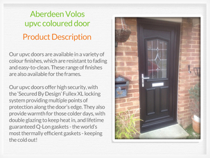 Door suppliers and fitters in Newburgh Fife