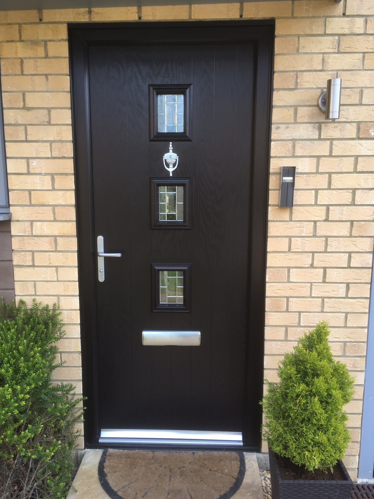 Fully fitted and supply only upvc composite doors by we for Composite front doors