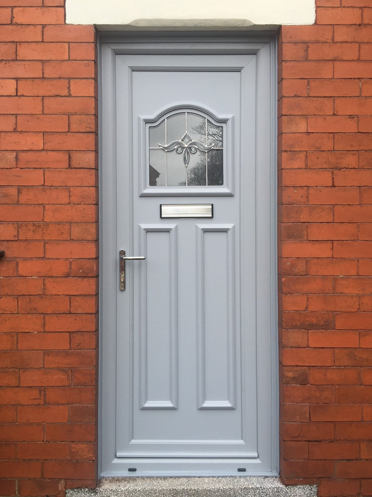 Fully fitted and supply only upvc composite doors by we for Exterior back door styles