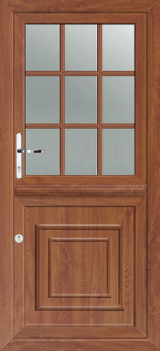 Upvc stable doors brown for Brown upvc door