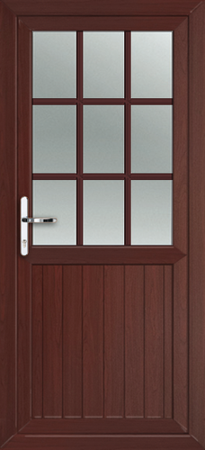 Rosewood fully fitted cardiff upvc back doors for Back doors fitted