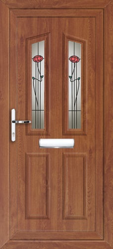 Oak fully fitted croydon upvc front doors for Upvc front doors fitted
