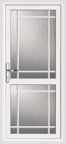 Fully fitted fully glazed upvc back doors for Back doors fitted