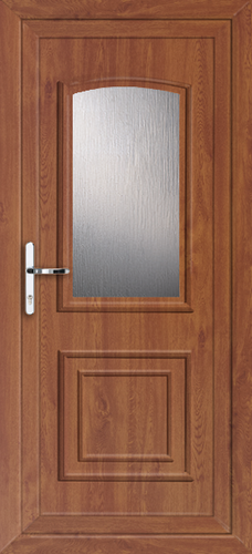 Oak fully fitted hillingdon upvc back doors for Back doors fitted