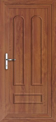 Oak kingston solid supply only upvc back door for Solid back doors