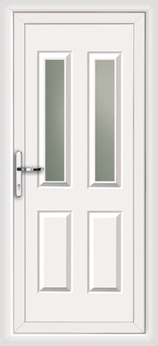 White leeds sella fully fitted upvc back door for White back door