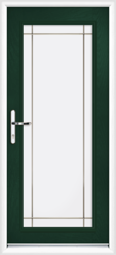 Green fully fitted perth composite back doors for Back doors fitted