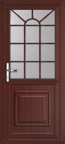 Rosewood fully fitted reading upvc back doors for Back doors fitted