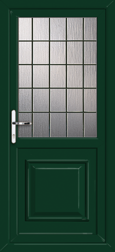 Green fully fitted reading upvc back doors for Back doors fitted