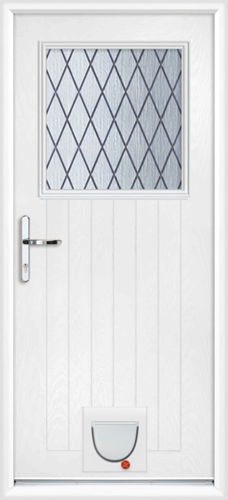 Sutton diamond lead with catflap