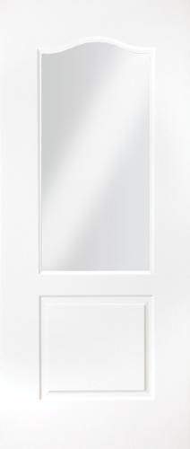 Classique glazed white