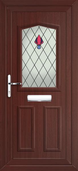 Rosewood Aberdeen Phoenix Fully Fitted Upvc Front Door