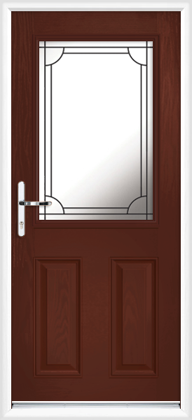 Rosewood angus lwd20 fully fitted composite back door for Back doors fitted