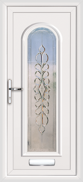White Birmingham Ursa Supply Only Upvc Front Door