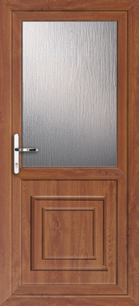 Oak brent attina fully fitted upvc back door for Back doors fitted