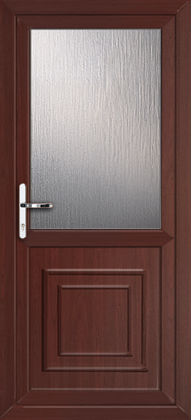 Rosewood brent attina fully fitted upvc back door for Upvc back doors fitted