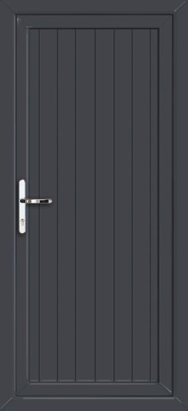 Anthracite Grey Cottage Style Supply Only Upvc Front Door