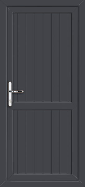 Cottage style with midrail for Back door styles