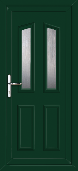 Green croydon elbe fully fitted upvc back door for Back doors fitted