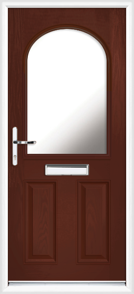 Rosewood Devon Anice Fully Fitted Composite Front Door