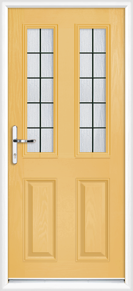 Buttercup dorset box lead fully fitted composite back door for Back doors fitted