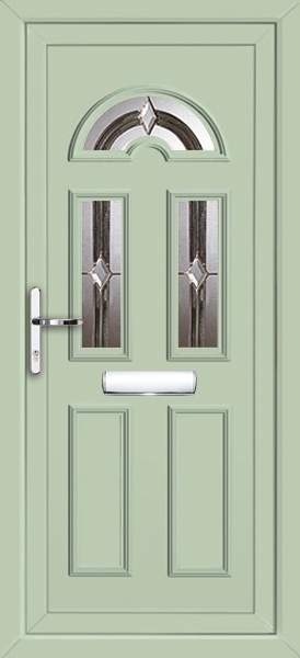 Chartwell Green Enfield Tagus 3 Fully Fitted Upvc Front Door