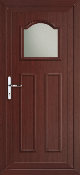 Rosewood glasgow oka fully fitted upvc back door for Upvc back doors fitted
