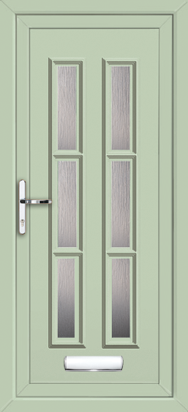 Chartwell Green Havering Arbon 6 Fully Fitted Upvc Front Door