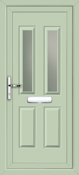 Chartwell Green Leeds Sella Fully Fitted Upvc Front Door