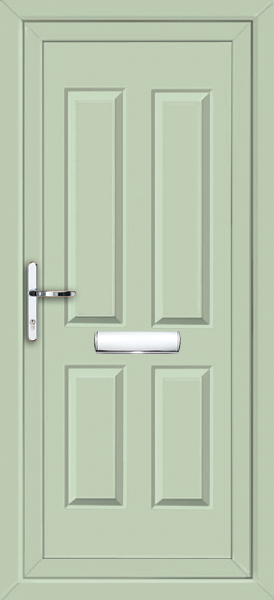 Chartwell Green Leeds Solid Supply Only Upvc Front Door