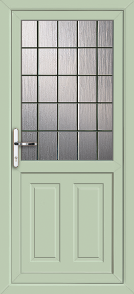 Leicester square lead for Upvc doors fitted