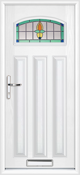 White London Opus Supply Only Composite Front Door