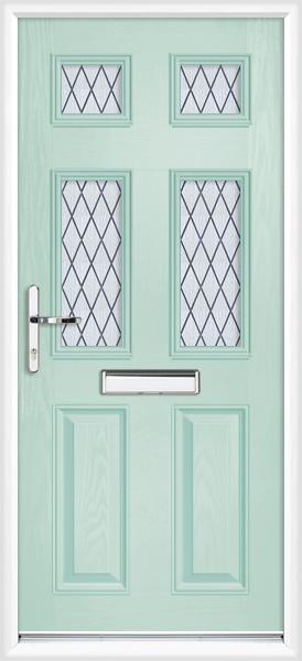 Northumberland diamond lead for Duck house door size