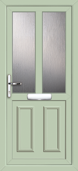 Chartwell Green Nottingham Melody 2 Fully Fitted Upvc Front Door