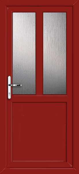 Red Plymouth Melody 2 Supply Only Upvc Back Door