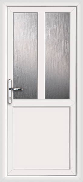 White plymouth melody 2 supply only upvc back door for White back door