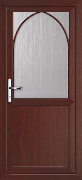 Rosewood plymouth pat19 fully fitted upvc back door for Upvc back doors fitted