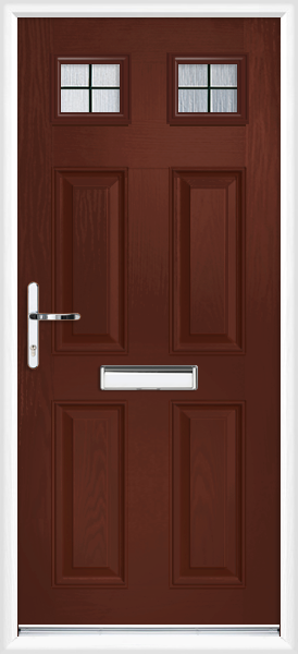 Rosewood Sussex Box Lead Supply Only Composite Front Door