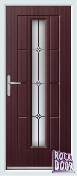 Mahogany vermont trio supply only rock door for Mahogany door skin
