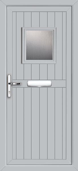 Light Grey Wandsworth Esmie Fully Fitted Upvc Front Door