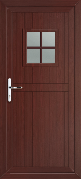 We do doors for Brown upvc door