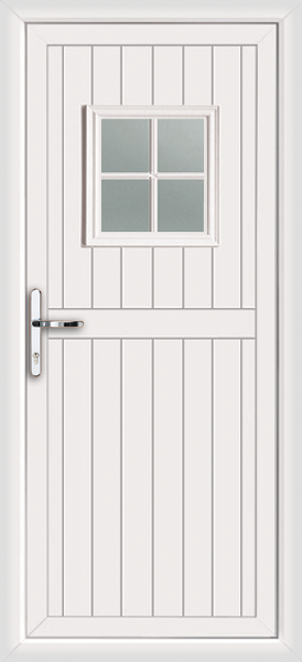 Pvc u door back stable style upvc for White back door