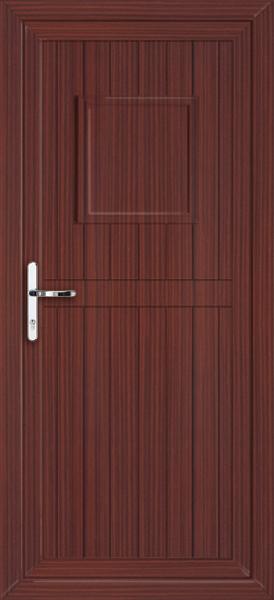 Upvc doors mahogany for Solid back doors