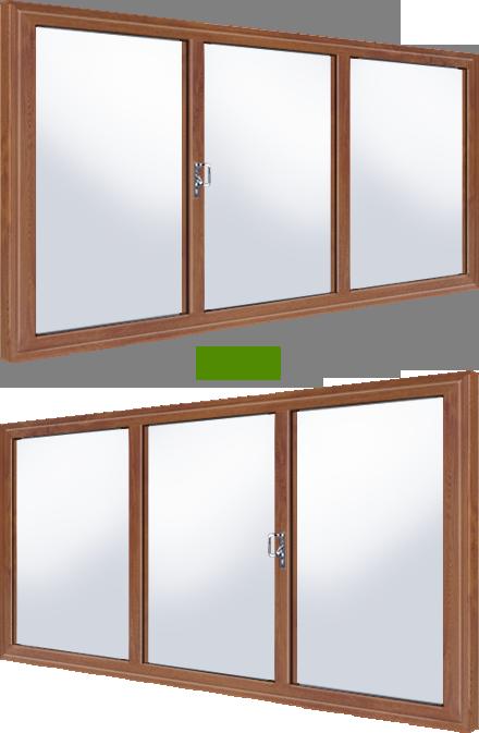 Oak coloured upvc sliding patio doors for Upvc sliding patio doors