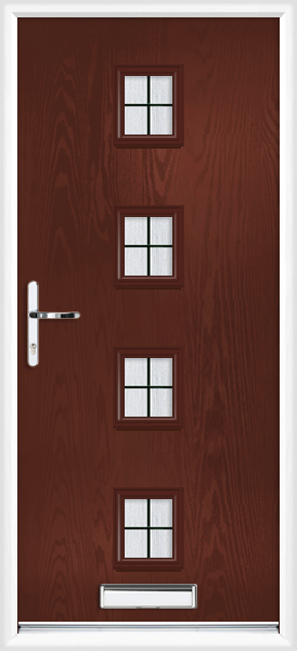 Rosewood Worcester Box Lead Supply Only Composite Front Door